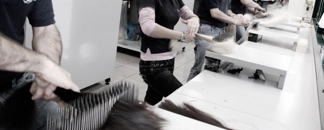 GREAT LENGTHS hair extensions CRAFTSMANSHIP AND MANUAL SKILLS