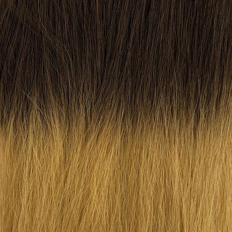 Colour Blocking two tone premium hair extensions 03 on 84