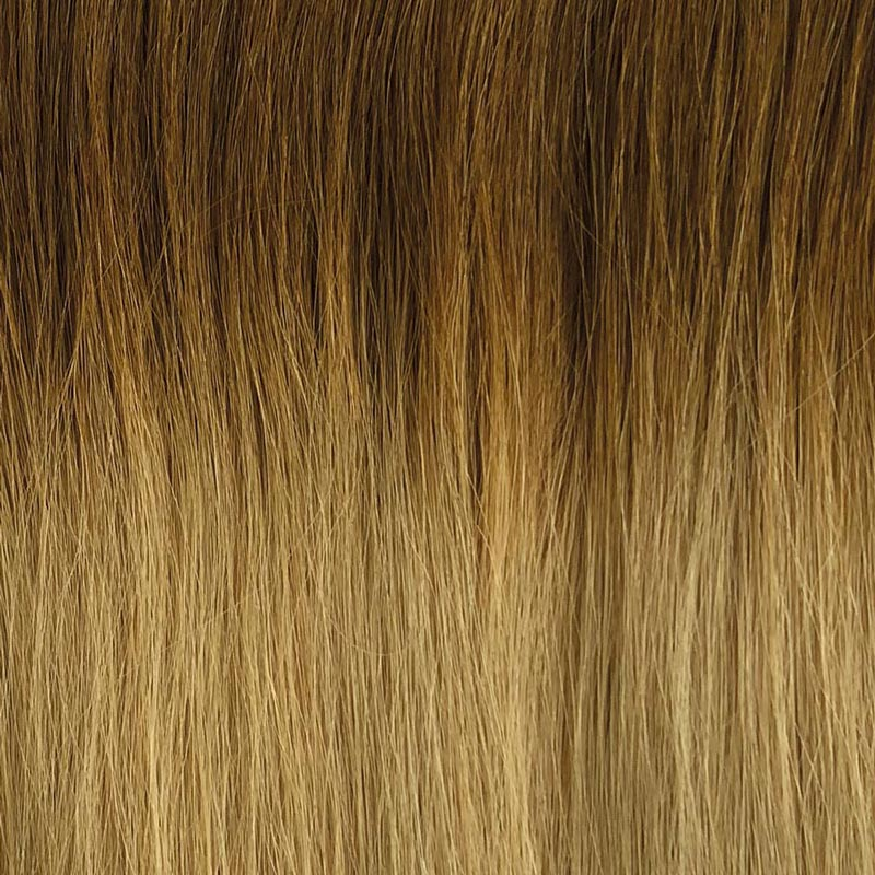 Colour Blocking two tone premium hair extensions 08 on 24