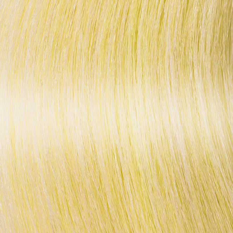 Pastel Yellow Hair Extensions