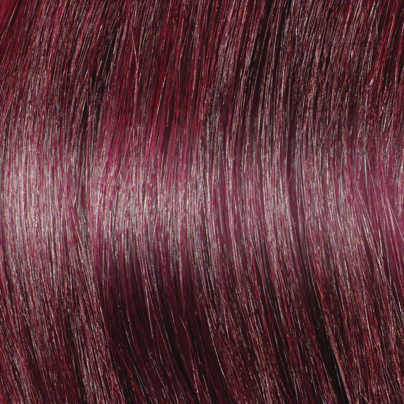 Dark Red Hair Extensions - Great Lengths