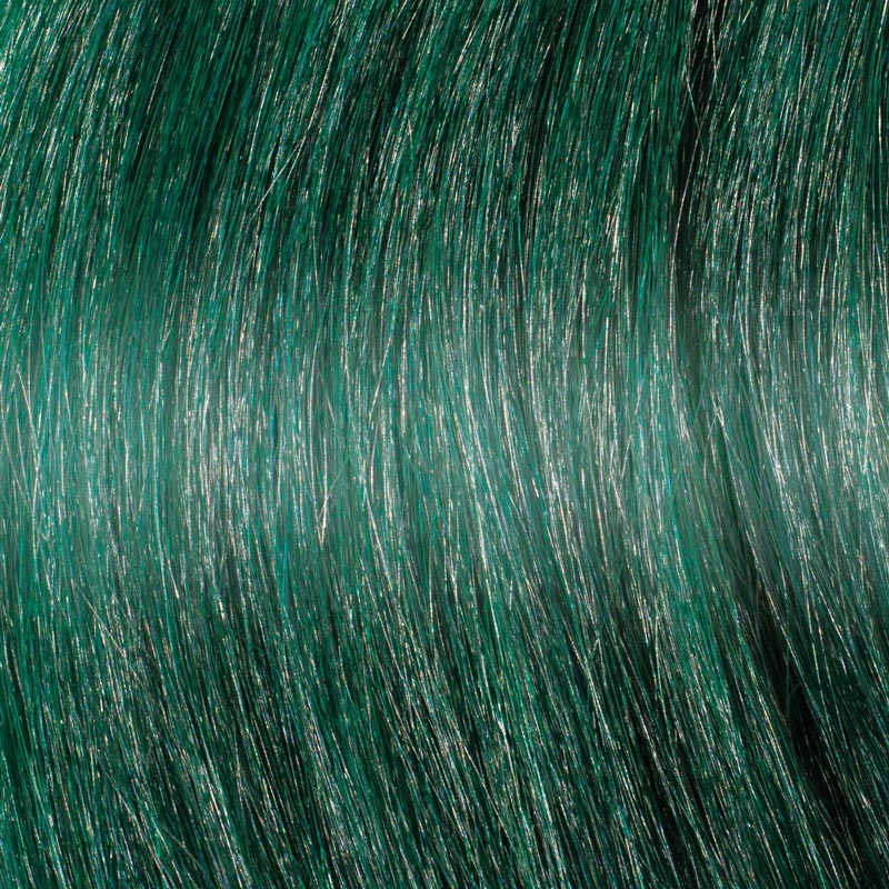 Dark Green Hair Extensions - Great Lengths
