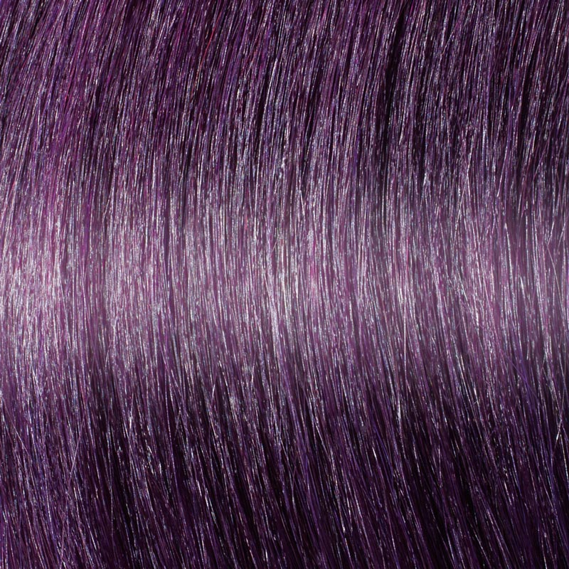 122 Dark Purple Hair Extensions - Great Lengths