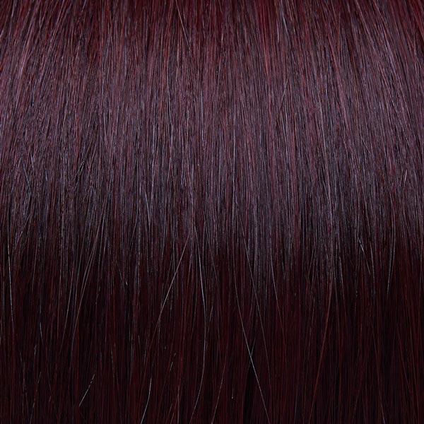 Deep burgundy hair extensions