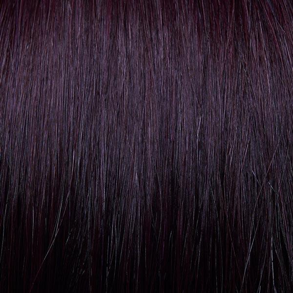 Aubergine hair extensions