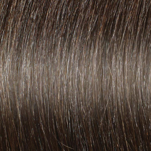 Cool mid chocolate brown hair extensions