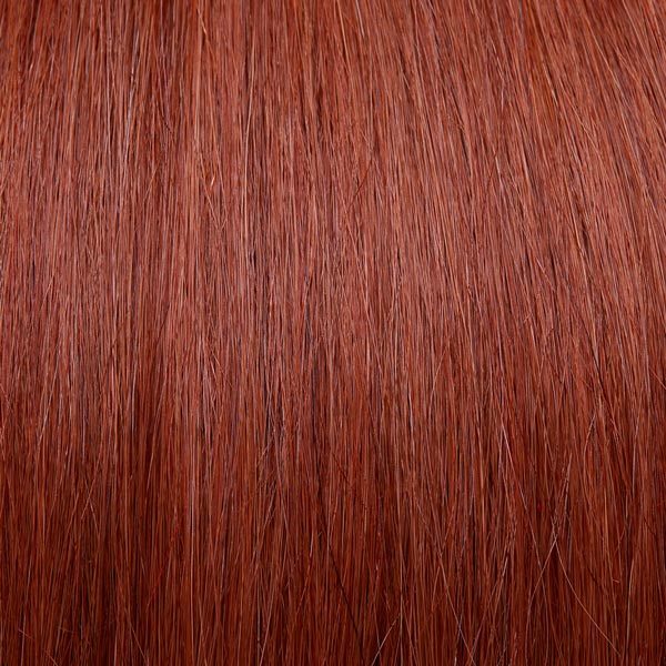 Beautiful copper hair extensions