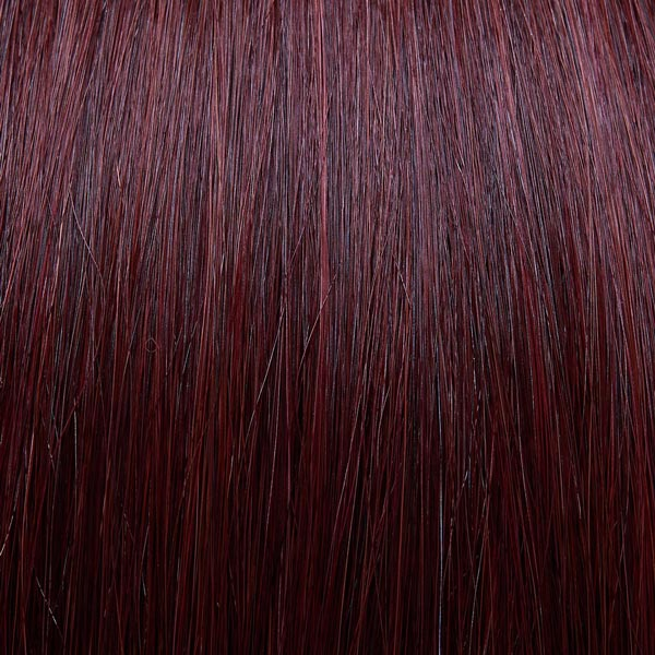 Russet red hair extensions
