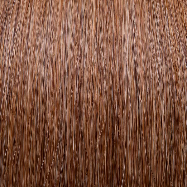 Warm brunette hair extensions