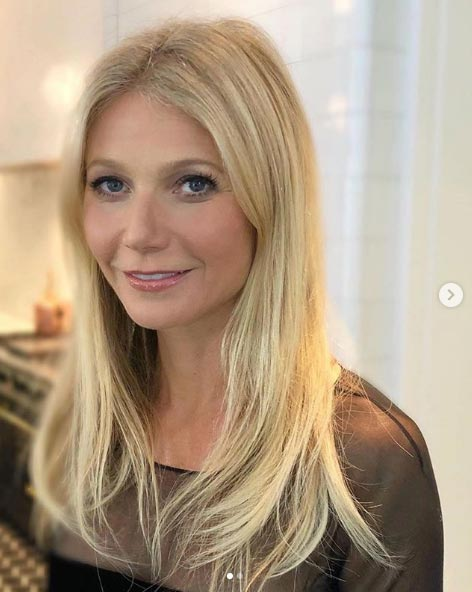 Gweneth Paltrow hair extensions