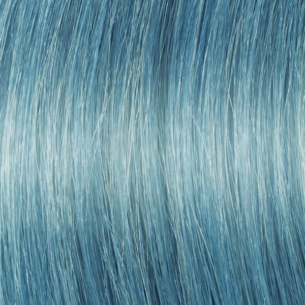 Pastel Blue Hair Extensions