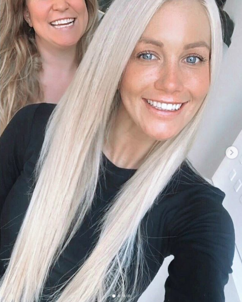 Ali Oetjin with Great Lengths Hair Extensions