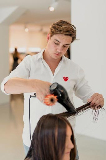 nasser styling hair extensions
